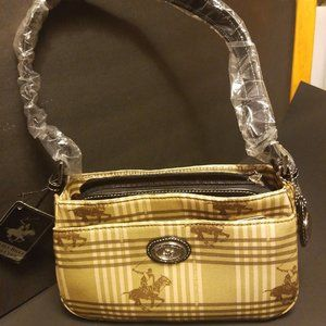 Beverly Hills Polo Bucket bag NWT